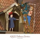 300 pieces Jigsaw Puzzle - Kiki & Tombo - kanban - Kiki's Delivery Service - Ghibli - 2008 (new)