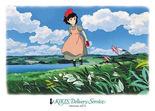 500 pieces Jigsaw Puzzle - nagareru kumono - Kiki - Kiki's Delivery Service - 2008 (new)