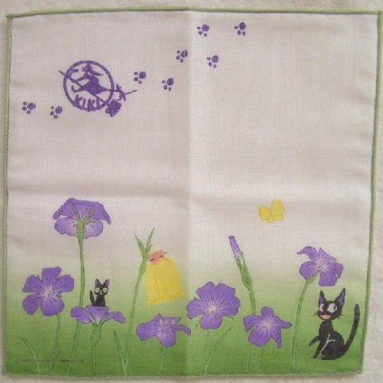 Handkerchief - 21.5x21.5cm - Gauze - Jiji - Kiki's Delivery Service - Ghibli - 2008 (new)