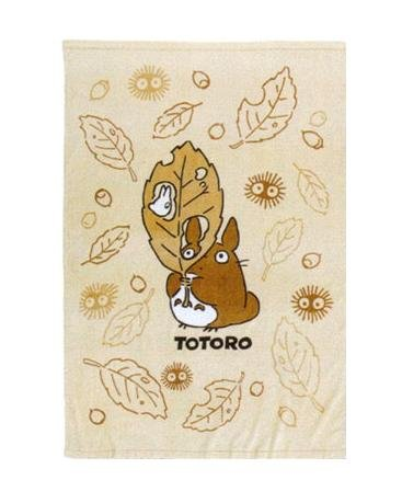 Ghibli - Totoro - Towel Blanket  - 100x140cm - Cotton - sepia - 2008 (new)