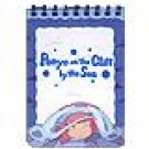 3 left - Mini Notebook - Ponyo - Ghibli - 2008 - out of production (new)
