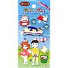 1 left - Craft Sticker Sheet - Ponyo & Souseki & Ponponsen - Ghibli - no production (new)