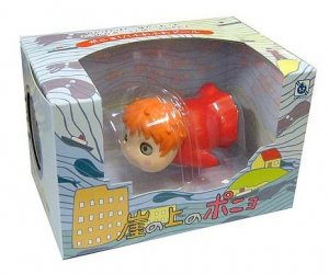2 left - Soft Doll Scale 1/1 - eyelids move - Ponyo - 2008- out of production (new)