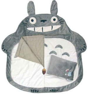 Sleeping Bag &amp; Pillow - Cushion - Totoro - Ghibli - 2008 (new)