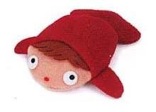 Ghibli - Gake no Ue no Ponyo - Mascot - 2008 - out of production - RARE - SOLD (new)