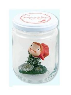 Ghibli - Gake no Ue no Ponyo - Aqua Glass Pot - Ponyo Fish Figure - 2008 (new)