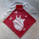 2 left - Baby Bib - Japanese Dyed - made in Japan - Totoro - no production (new)