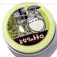 Ghibli - Totoro - 1 Metal Hook & 1 Tin Can - Yellow Can - 2008 (new)
