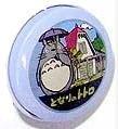 Ghibli - Totoro - 1 Metal Hook & 1 Tin Can - Blue Can - 2008 (new)