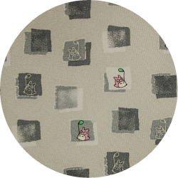 Ghibli - Totoro - Necktie - Silk - square - gray - made in Japan - 2008 (new)
