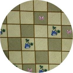Ghibli - Totoro - Necktie - Silk - Jacquard Weaving - kaku - yellow - made in Japan - 2008 (new)