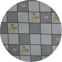 Ghibli - Totoro - Necktie - Silk - Jacquard Weaving - kaku - gray - made in Japan - 2008 (new)