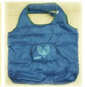 2 left - Eco Folding Shoulder Bag in Pouch - Laputa Robot - 2006 - out of production (new)