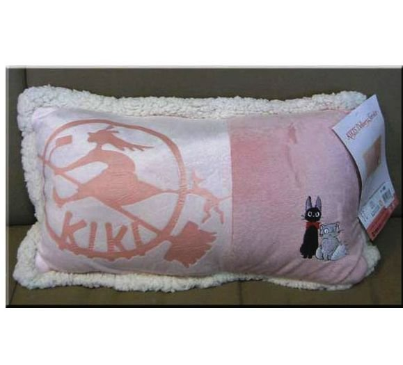Cushion - 22x40cm - Jiji & Lily - Kiki's Delivery Service - Ghibli - 2008 - no production (new)