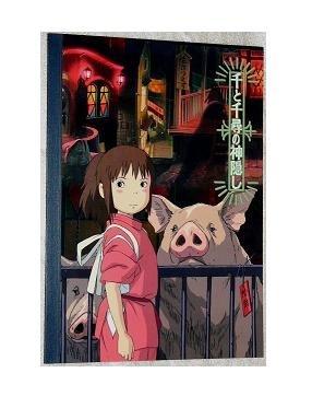 Ghibli - Spirited Away - Notebook - out of production - RARE - SOLD OUT (new)
