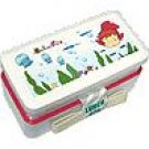 2 Tier Lunch Bento Box & Belt - dishwasher & microwave - made in Japan - Ponyo - 2008 (new)
