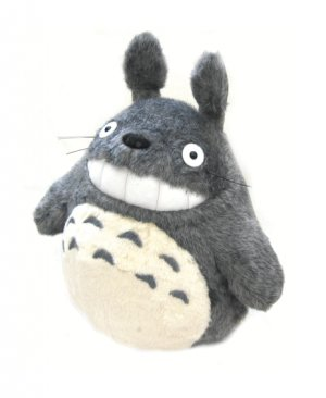 Plush Doll (L) - H32cm - Smile - Totoro - Ghibli - Sun Arrow (new)