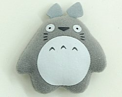 Magnet - Mascot - gray - Totoro - Ghibli - Sun Arrow (new)