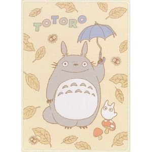 Ghibli- Totoro - Blanket (M) 100x140cm - Polyester & Microfiber -2008-outproduction-RARE-1 left(new)