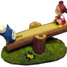 1 left - Figure - Seesaw - moves up and down - Chu & Sho Totoro & Mei - 2008 - no production (new)