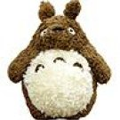 Plush Doll (L) - H37cm - Fluffy - brown - Totoro - Ghibli - Sun Arrow - 2008 (new)