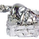 1 left-50%OFF- Figure - Heen - White Metal Silver Plating - Howl's Moving Castle -no production(new)