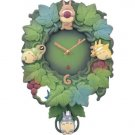 25% OFF - Wall Clock - Quartz Citizen - Totoro & Chu & Sho Totoro Pendulum - Ghibli (new)