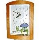 25% OFF - Wooden Alarm Clock - Music Box - Quartz Citizen - Totoro & Sho Totoro - Ghibli (new)