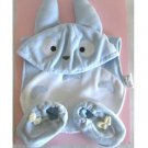 Cap & Baby Bib & Shoes - 3 items - Baby Gift Set - Chu Totoro - Ghibli - Sun Arrow - 2009 (new)