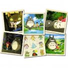 Puzzle - 9 Wooden Blocks - 6 Patterns - Totoro - Ghibli - 2008 (new)