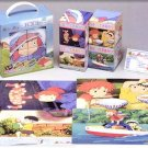 4 Jigsaw Puzzle Set - 15 & 30 & 54 & 80 pieces - Ponyo - Ghibli - 2008 (new)