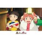 300 pieces Jigsaw Puzzle - Ponyo & Sousuke - arashino yoru - Ghibli - Ensky - 2008(new)