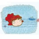 1 left - Fluffy Pouch - square - Ponyo - Ghibli - out of production (new)