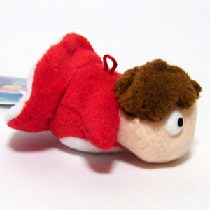 Plush Doll (SS) - Mascot - Ponyo - Ghibli - Sun Arrow - 2008 - out of production (new)
