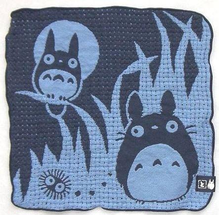 Ghibli - Totoro - Mini Towel - made in Japan - night - 2008 (new)