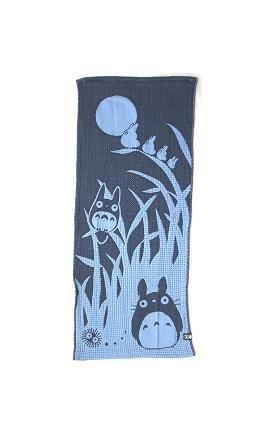 Face Towel - made in Japan - night - Totoro - Ghibli - 2008 (new)