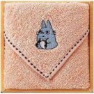 Towel Gift Set - Mini Towel - Chu Totoro Embroidered - orange - Totoro - 2009 (new)