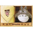 Towel Gift Set - Mini Towel & Mascot - Mei Embroidered - yellow - Totoro - Ghibli - 2009 (new)