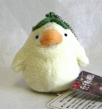 Mini Plush Doll - Ootorisama - Chain Strap - Spirited Away - Ghibli - 2009 (new)
