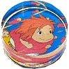 Rubber Stamp - Acrylic Handle - Ponyo Girl - Ghibli - 2008 (new)