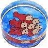 Rubber Stamp - Acrylic Handle - Sisters - Ponyo - Ghibli - 2008 (new)