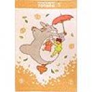 Blanket -85x120cm -Cotton- NonThread Steam Shirring - Totoro & Chu & Sho & Mei Satsuki - 2009(new)