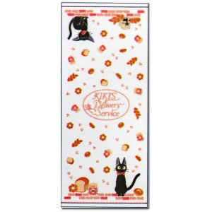 Face Towel - Gauze & Pile - Milkcrown - made in Japan - Jiji - Kiki's Delivery Service - 2009 (new)