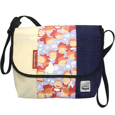 Shoulder Bag - Ponponsen Reflector - messenger bag - Ponyo - Ghibli - Ensky (new)