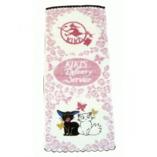 Face Towel - Non Thread - rose - Jiji & Lily - Kiki's Delivery Service - 2009 (new)