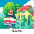 500 pieces Jigsaw Puzzle - oie wo ato ni - Ponyo on Boat - Ghibli - Ensky - 2009 (new)