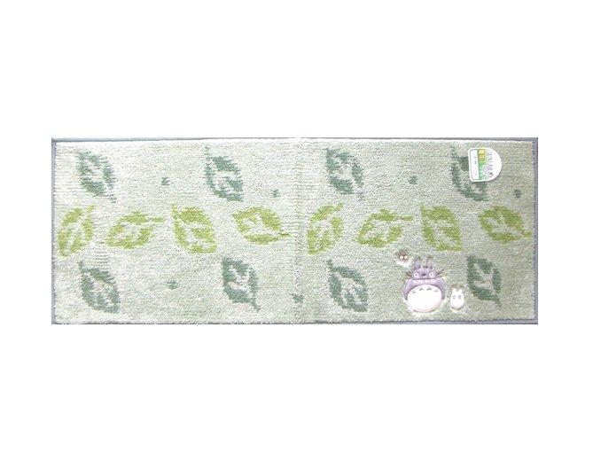 Long Mat 45x120cm - Totoro & Sho Applique - Kurosuke Embroidered - Ghibli - 2009 (new)