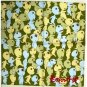 1 left- Handkerchief 29.5x29.5cm - Made in Japan - Kodama - Mononoke - Ghibli -no production (new)