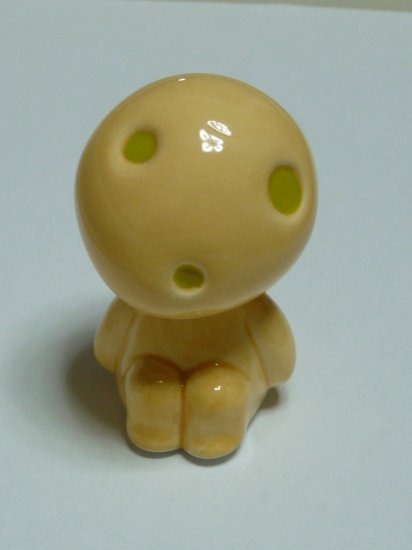 SOLD OUT-Ghibli - Mononoke - Kodama Figure Ceramics -head moves-make sound-outproduction(new)