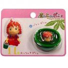 1 left - 2 Magnet Set - Ponyo Girl Face & Ponyo in Bucket - Ghibli - 2009 - no production (new)